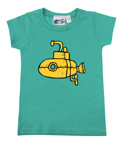 Submarine Aqua T-shirt