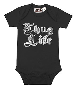 Thug Life Black One Piece