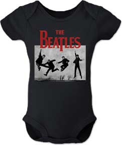 Beatles Jump Photo Black One Piece