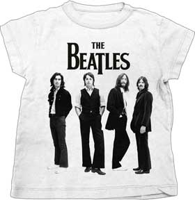 Beatles Standing Logo Toddler T-shirt
