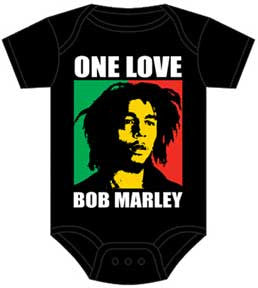 Bob Marley Black One Love Block One Piece