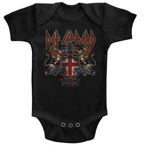 Def Leppard Defcrest Black One Piece