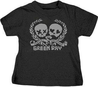 Green Day Skulls T-shirt