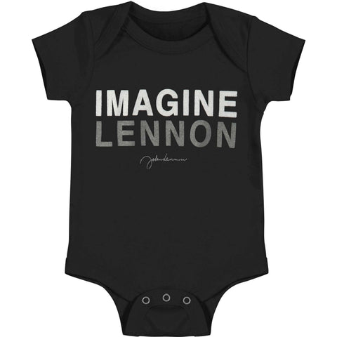 John Lennon Imagine Black One Piece