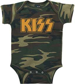 Kiss Camouflage Logo One Piece