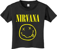 Nirvana grunge rock 90's baby clothes
