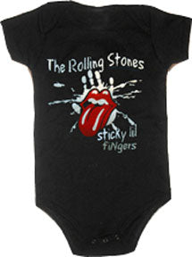 The Rolling Stones Sticky Little Fingers Black One Piece