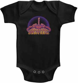 Scorpions Bright Scorpion Black One Piece