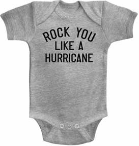 Scorpions Rock You Like A Hurricane Gray One Piece