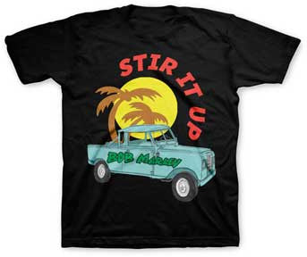 Bob Marley Stir It Up Truck Toddler T-shirt