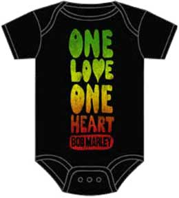 Bob Marley One Love Heart One Piece