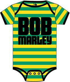 Bob Marley Jamaica Stripe Yellow & Green One Piece