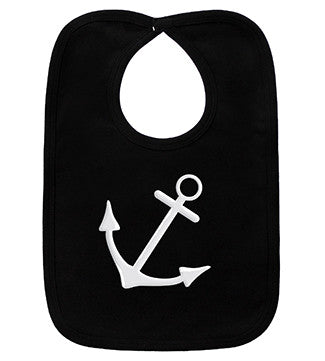 Anchor Black Bib