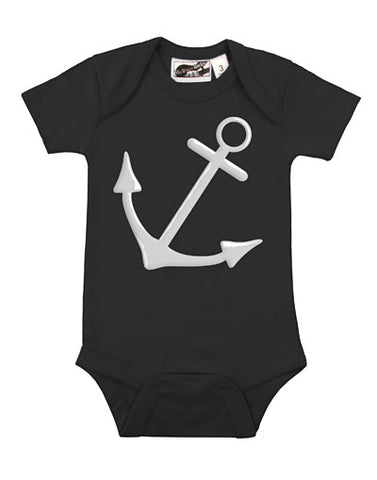 Anchor Black One Piece