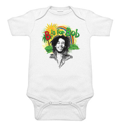 Bob Marley B is for Bob Rainbow One Piece