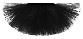 Black Playful Tulle Tutu