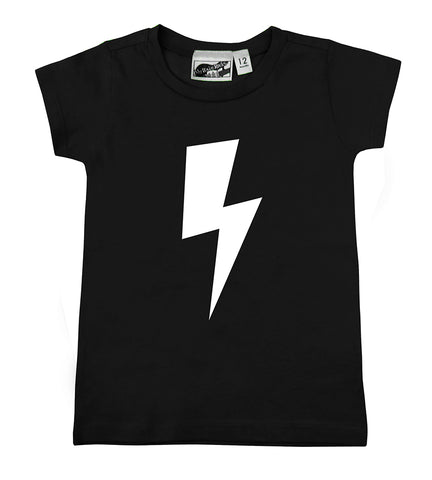 Lightning Bolt Black T-shirt