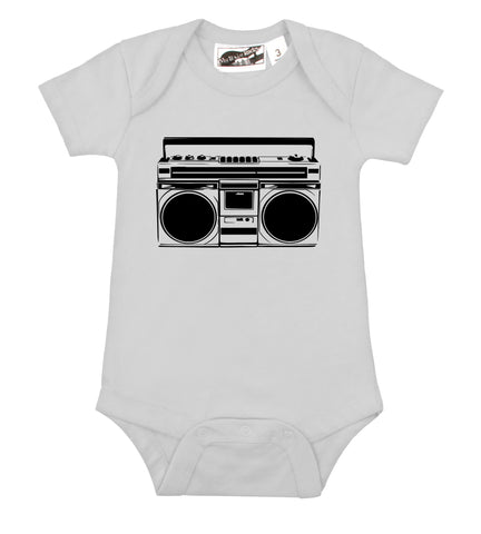 BOOMbox White One Piece
