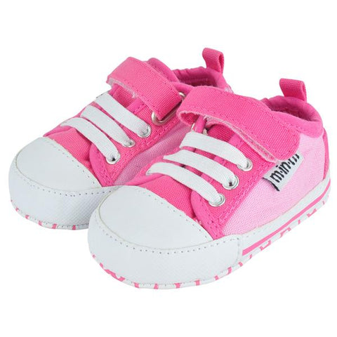 Pink Charlie V Canvas Shoes