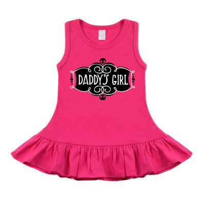 Daddy's Girl Hot Pink Dress