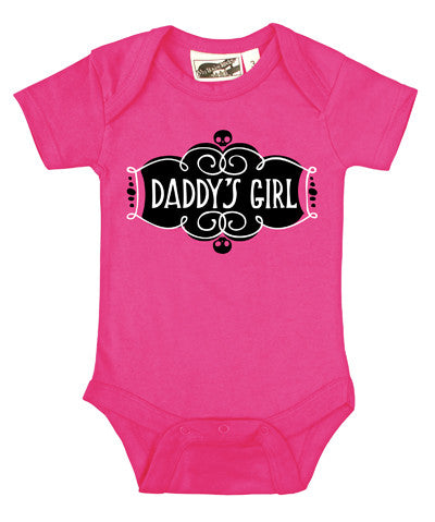 Daddy's Girl Hot Pink One Piece