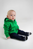 Kelly Green Signature Zip Up Hoodie w/ Detachable Hood