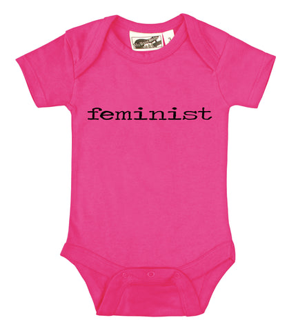 Feminist Hot Pink One Piece