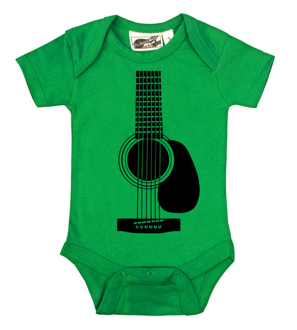 Acoustic Guitar Kelly Green One Piece