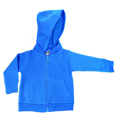 Turquoise Signature Zip Up Hoodie w/ Detachable Hood