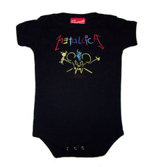 Metallica rock one piece infant