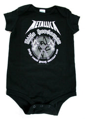 Metallica infant romper
