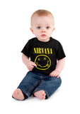 Nirvana Smile Black T-shirt