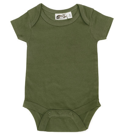 Olive Green Blank One Piece