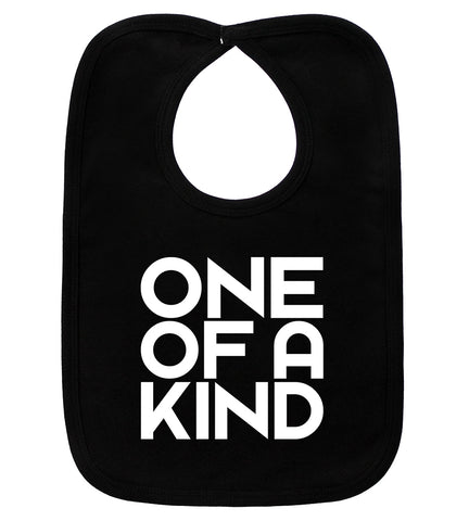 One Of A Kind Black Bib