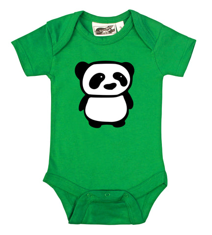 Panda Kelly Green One Piece