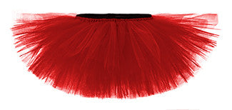 Ruby Red Playful Tulle Tutu