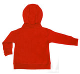 Red Signature Zip Up Hoodie w/ Detachable Hood