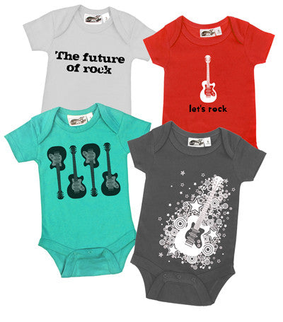 Future Rocker Aqua & Red 4 One Piece Set