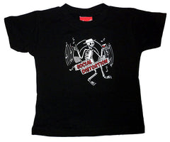 Social distortion toddler tee
