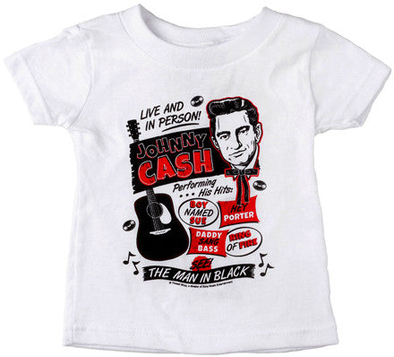 Johnny Cash Flyer T-shirt