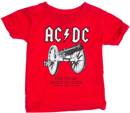 AC/DC Cannon Red T-shirt