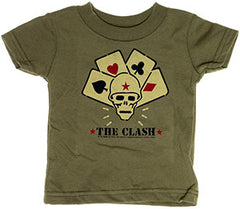 The Clash punk rock toddler clothes
