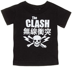 The clash punk toddler t-shirts