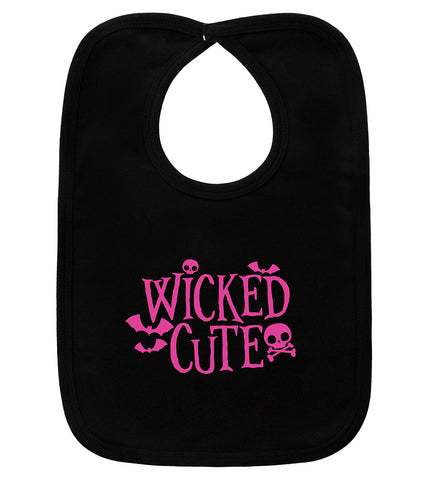 Wicked Cute Black Bib
