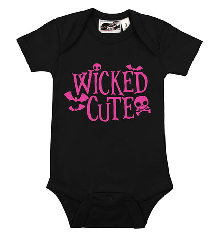 Wicked Cute Black & Pink One Piece