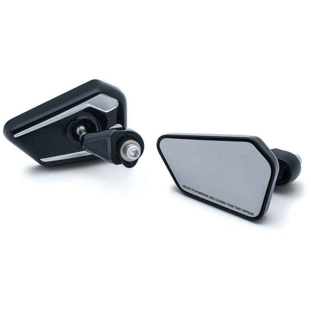 Bagger Brothers Elite Series Fairing Mounted Mirrors for 2014-2017 Harley-Davidson® Touring Models. AVAILABLE IN BLACK & CHROME