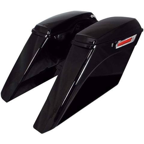 Bagger Brothers Saddlebag Complete Extended Kit 5 Down 5 Out with No Cut Outs 2014-2020 Harley-Davidson FL Models