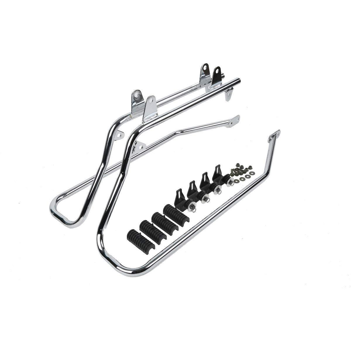 Bagger Brothers Saddlebag Rails Conversion Kit Fits 1984
