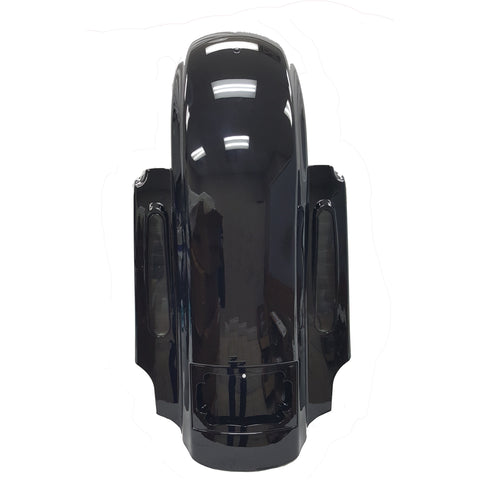 Bagger Brothers Dual Cut Replacement Rear Fender with CVO-Style LED Lights - 2009-2020 Harley-Davidson® Touring Models