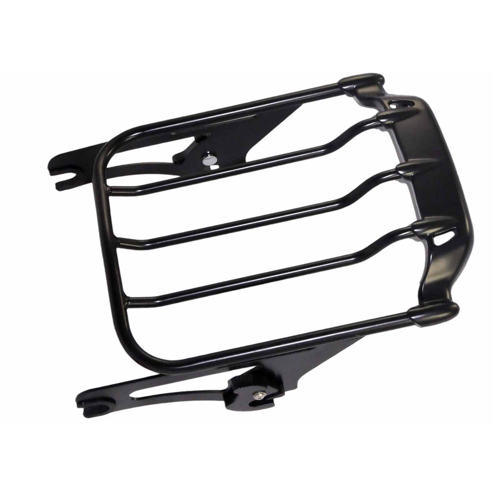 Bagger Brothers Luggage Rack Detachable Spoiler Two-Up Fits 2009-2017 Harley-Davidson FL Touring Models